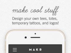 Makr: Design Custom Logos, Wedding Invites & More! 2.4.12 Screenshot