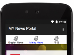 Malaysia News Portal 1.2 Screenshot