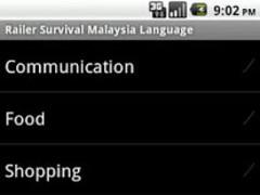 Malaysia Survival Language ™ 2.0 Screenshot
