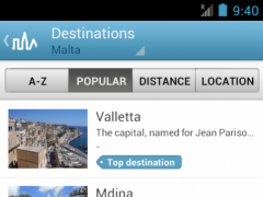 Malta Travel Guide by Triposo 4.6.0 Screenshot