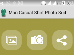 Man Casual Shirt Photo Suit 2.0 Screenshot