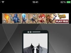 Man Suit Up Cam Photo Maker Montage Pro 1.0 Screenshot