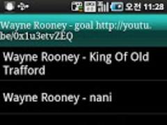 Man-U Wayne Rooney 1.0 Screenshot