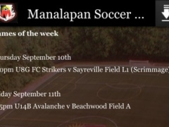 Manalapan Soccer Club 3.0 Screenshot