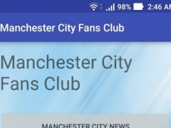Manchester City Fans Club 1.1 Screenshot