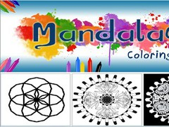Mandalas Coloring Book 201 Screenshot