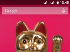 Maneki Neko - Lucky Cat LWP 1.5 Screenshot