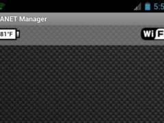 MANET Manager 1.0 Screenshot