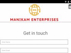 Manikam Enterprises 1.0 Screenshot