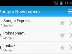 Manipur Newspapers 1.0.0 Screenshot