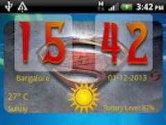 ManOfSteel Widget 1.0 Screenshot