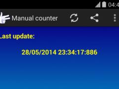 Manual counter 1.0.2 Screenshot