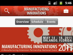 Manufacturing Innovations 2011 1.7.0 Screenshot