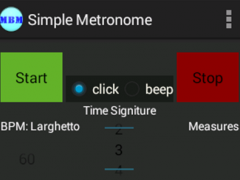Marching Band Metronome 1.0 Screenshot