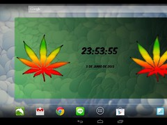 Marijuana Digital Clock 3.10 Screenshot
