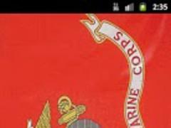 Marines Flag Live Wallpaper 3.0 Screenshot
