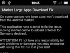 Market Large Apps Download Fix 1.0 Screenshot