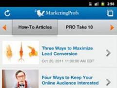 MarketingProfs 1.3 Screenshot