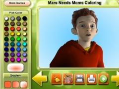 Mars Needs Moms Coloring 1.0 Screenshot