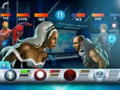 Review Screenshot - Super Hero RPG – Match Tiles to Defeat Super Villains
