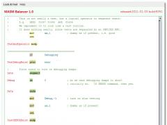 MASMBalancer 1.3 Screenshot