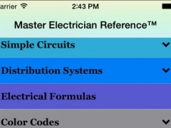 Master Electrician Reference 1.0.2 Screenshot