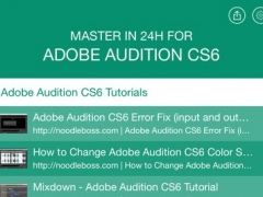 Master in 24h for Adobe Audition CS6 1.0 Screenshot
