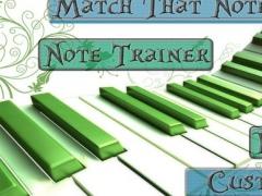 Match That Note Match a Note Ear Tuner 2.0 Screenshot