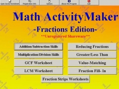 Math ActivityMaker: Fractions 1.6 Screenshot