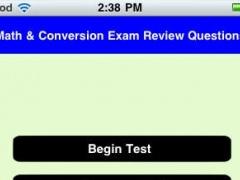 Math and Conversion Nursing School Exam Test Prep 1.0 Screenshot