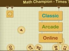 Math Champion - Times Table 1.0 Screenshot