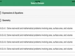 Math ELA Grade 6 - Common Core,PARCC,SBAC Practice 2.4.1 Screenshot