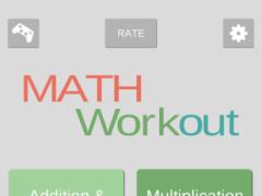 Math Games - Math Workout 1.2 Screenshot
