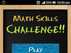 Math Skills Challenge 2.1 Screenshot