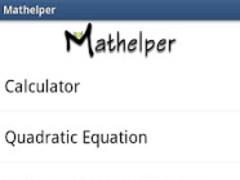 Mathelper 1.8.1 Screenshot