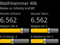 MathHammer 40k 2.1 Screenshot