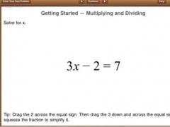 Mathination - Equation Solver 1.1 Screenshot