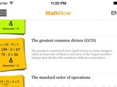 MathNow 1.5 Screenshot