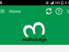 Matholution homework solver 1.2.9 Screenshot