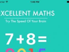 Maths Game For Excellent Man 1.0 Screenshot