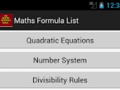 Maths School Guide 1.0.1 Screenshot