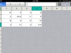 Matrix Calculator for iPad 1.10 Screenshot