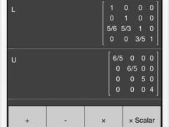 Matrix Calculator + —Lite Version 2.0 Screenshot