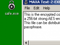MAXA Text2EXE 3.3 Screenshot