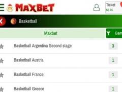 Maxbet iBet 3.8 Screenshot