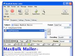 MaxBulk Mailer 8.6.1 Screenshot