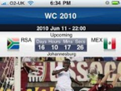 Maxis World Cup 2010 (320X480) 1.1 Screenshot