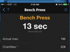 MaxLift Weight Lifting App 1.2.1 Screenshot