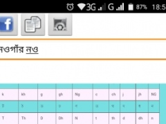 Review Screenshot - Bengali Keyboard – Your Ticket to Writing Messages in Bangla