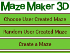 Maze Maker 3D 2.3.2 Screenshot